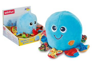 Smily Play Hip Hop octopus for crawling