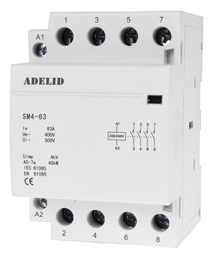 Modulárny stýkač 63-40 230V 63A 3P 4Z 3-fáza