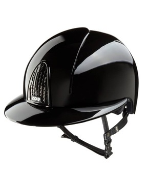 Kask Cromo Smart Shine Polo Black + Insert