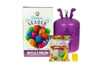 Válcový hélium 0,42 m3 na 50 balónov + balóny