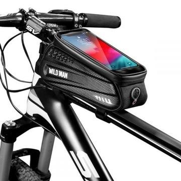 Vodotesný SAKWA Bicykel Bag Telefónny držiak