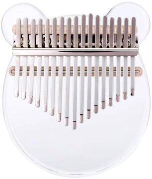 Kalimba 17 Kľúče Piano Thumb Akryl