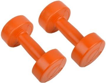 Dumbbells Dumbbell Hanthies Fitness 2x1kg
