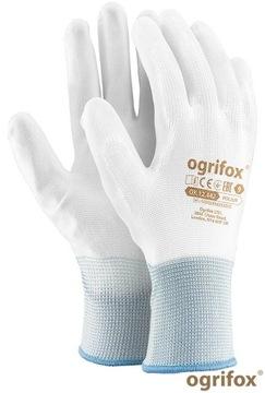 12 párov Presné tesné polyuretánové rukavice