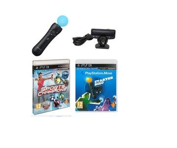 Presunúť Presunuté kamery Sports + Starter PS3 3xpl