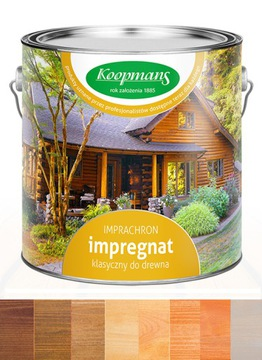 Ochranný prostriedok na drevo Koopmans Imprachron 10L. Farba
