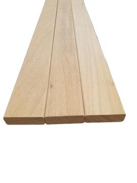 Drevené planki Abachi 22x80mm 140cm Trieda A