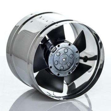 Nehlučná krbová turbína s tichým chodom 125 mm