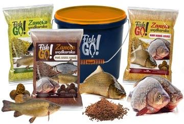 Rybárčenie BAEAL pre Carp Fish Set 9kg + Bucket