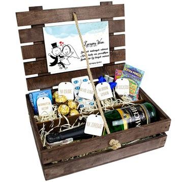 Box Box Svadobný darček pre mladý pár