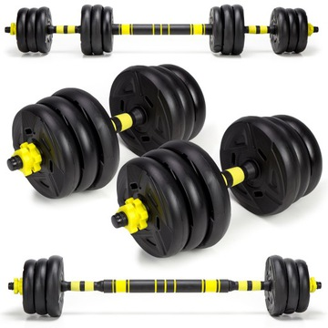 Dumbbell 20kg 2x10kg Barbell Sada hotfish