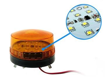 Výstražné svetlo LED Roge na bránu 12V