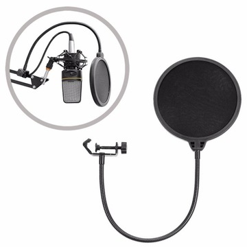 Double Studio Pop Filter Mikrofónový filter