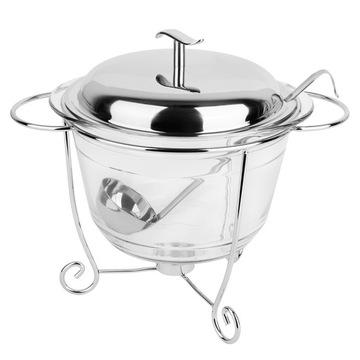 Váza pre polievku s tadar 4 l + chochelka ohrievač