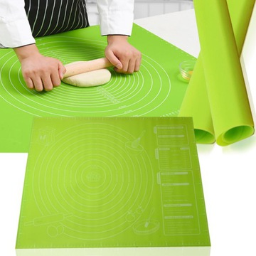 Silikónová Stolnica rohož pre kuchyňu s opatreniami