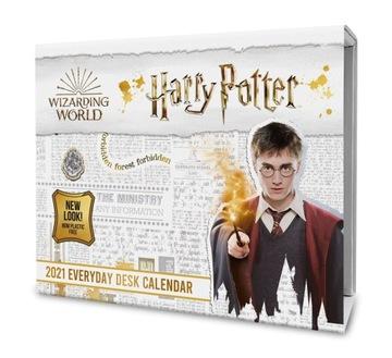 Karta Kalendár 2021 Harry Potter
