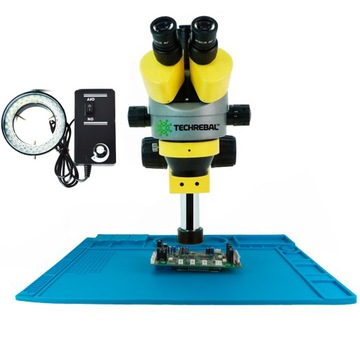 Trinokular 7-45 stereoskopický mikroskop 48x32