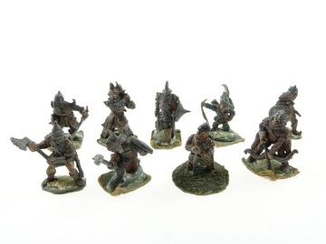 Warhammer Wargaming Set 9 Figurines Metal