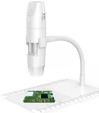 Digitálny mikroskop LCD 1000x WiFi 1080p FHD + 8