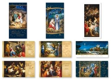 Vianočné pohľadnice bez priania, mix 9 LR1S