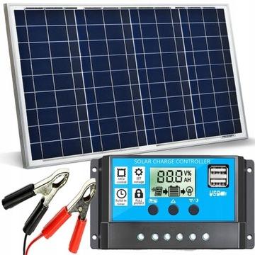 Solárny panel 30W 12V Solárny regulátor batérie