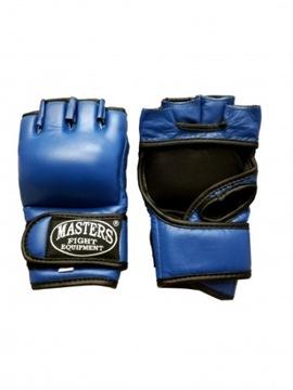 MMA Rukavice MMA Krava Kožené Masters __XL