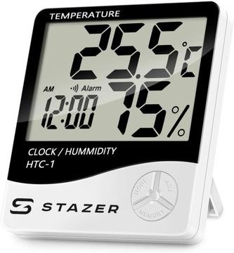 Digitálny teplomer Hygrometer Hodiny počasia