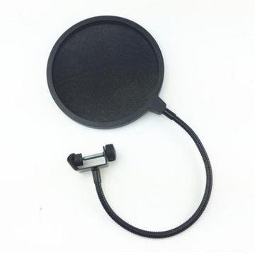 Štúdiový univerzálny popový filter pre mikrofón