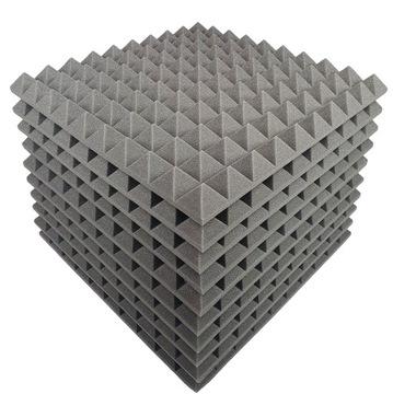 Akustické penové pyramídy panely 6 cm 50x50 10x
