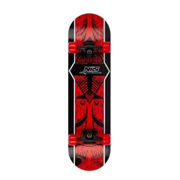 AZTEC skateboard NILS EXTREME ABEC-7 gumový 100kg