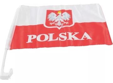 Poľská vlajka národného tímu Euro
