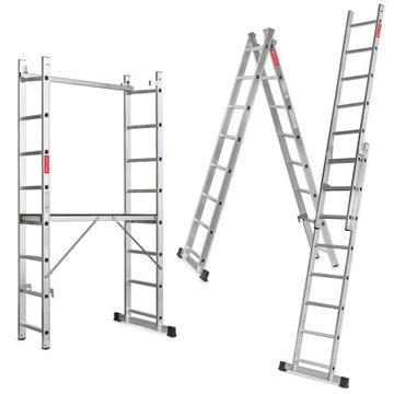 Lešenie, hliníková pracovná plošina 2x8 + ZADARMO