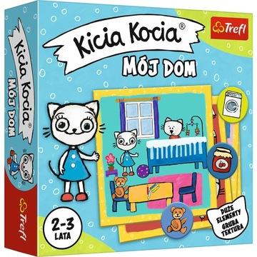 Vzdelávacia hra Kicia Kocia môj dom pre batoľatá