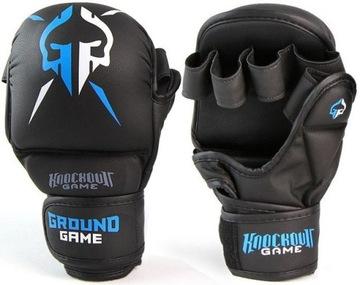 Pozemné rukavice pre MMA Sparring Black S / M