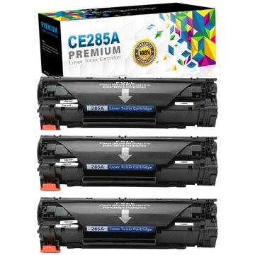 3x Toner pre tlačiareň HP LaserJet Pro P1102 P1102W