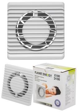 Kúpeľňový ventilátor tichý fi 100