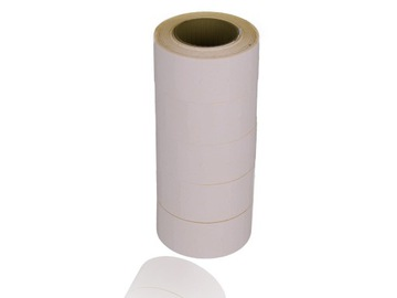 Páska pre jeden riadok pásky biela
