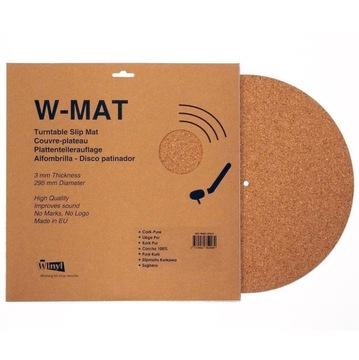 WinYL W-MAT CORK 295 / 3MM CORK MAT GRAMOFÓN