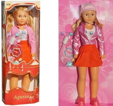 Veľká bábika AGUSIA chôdza 82 cm + príslušenstvo 6139