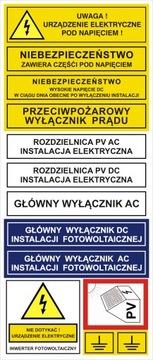 Elektrické samolepky. Inštalácie. Požiadavky na polohu PV-P. Požiadavky.