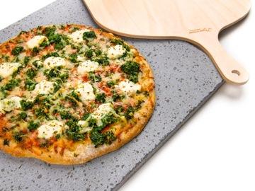 Sopečná sopečná pizza kameň s ETNA + Lopata