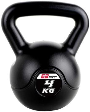 Dumbbell s fitness držadlom 4kg Kettlebel