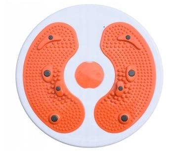 Twister rotačný pre cvičenie oranžové masér