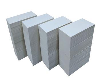 Cenové tagy kartónov Cenové etikety 2500 kusov