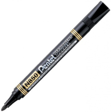 Trvalý marker Pentel N850 okrúhle čierne