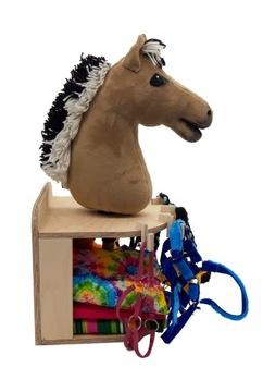 Stajnia / stojan - kôň na palici - pre 1 kôň