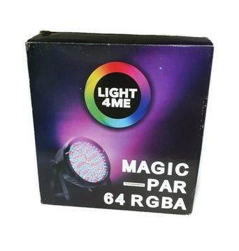 Light4ME Magic Par 64 RGBA 177 dióda 10mm