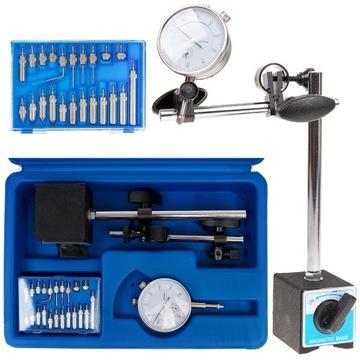 Snímač hodín magnetický statív 0-10mm
