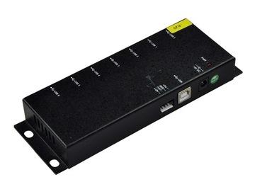 Priemyselný USB Koncentrátor 7 Porty HUB
