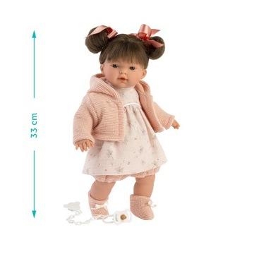 Plačúca bábika RIta 33 cm Llorens